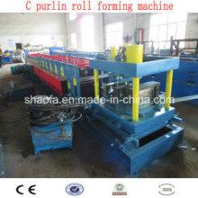 Máquinas de laminação de rolo de aço C Channel (AF-C80-300)