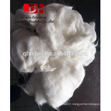 White angora rabbit hair wool fibers