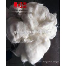 White angora rabbit hair wool fibers