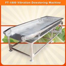 Máquina de deshidratación por vibración FT-1800 con alta eficiencia