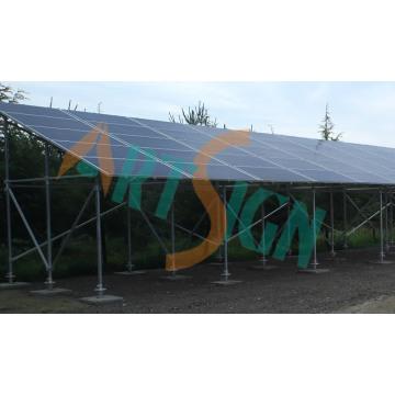 Solar Steel Parking Lot Structure