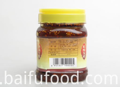 700g fresh pepper red oil watercress