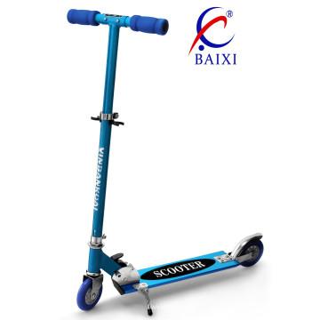 Melhores scooters para crianças com 120mm piscando roda de pvc (bx-2m009)