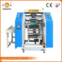 Высокоскоростная автоматическая машина для перемотки пленки на растягивающуюся пленку FTP-300 (CE)