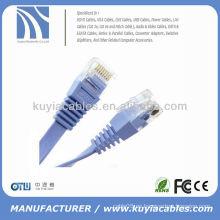Cable de cable de remiendo plano 1M para UTP cat 6
