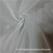 Resistente à água e à prova de vento Windbreaker tecido tecidos 100% Jacquard tecido de poliéster Cinza tecido pano cinza (53240)