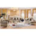 Ткань диван / гостиной диван / диван деревянная (929A)