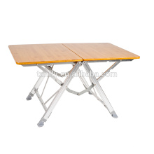 cheap aluminum folding fishing table camping table outdoor furniture
