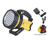 37 LEDs Spotlight with Warning Light