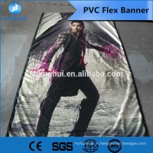 Échantillons gratuits, meilleur prix !! Chine Impression PVC flex bannière, bannière de toile extérieure