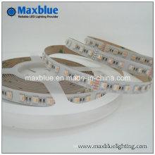 RGBW 4 colores una luz de tira flexible del LED 5050