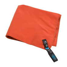 absorbent soft microfiber sport towel with mesh bag