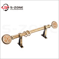 hot sale Stainless steel curtain rod pipe or curtain rod head