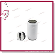 350ml/450ml White/Silver Stainless Steel Cans for Sublimation