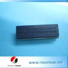 Badge nommé magnétique