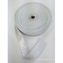 Cinta ignífuga de fibra de vidrio / cinta aislante térmica