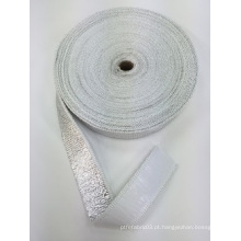 Fita de fibra de vidro à prova de fogo / isolamento térmico fita