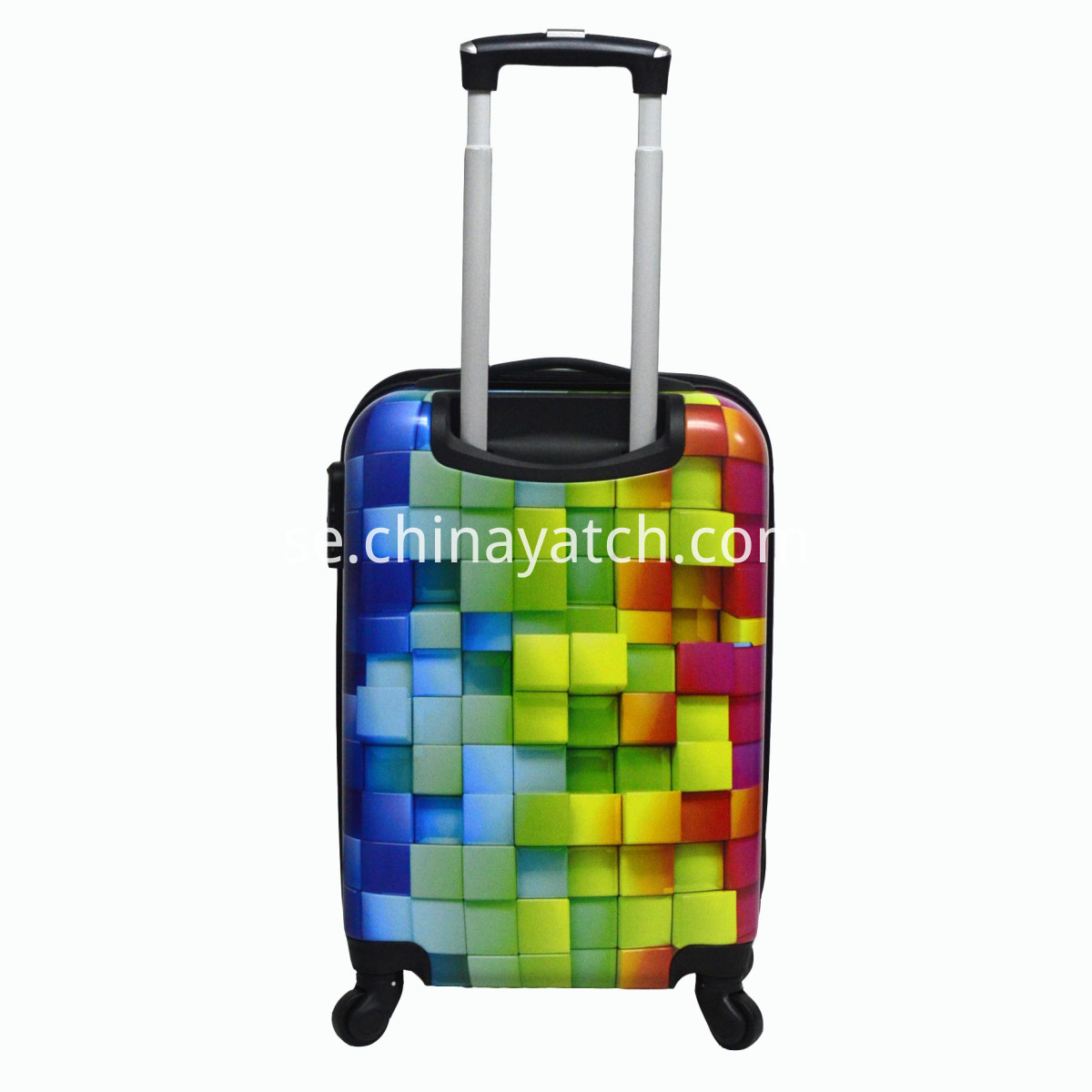 three dimension trolley luggage