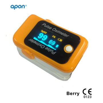 CE OLED Fingertip Pulse Oximeter for iPhone and Android Blood Oxygen Finger SpO2 Monitor Pulse Oximetry
