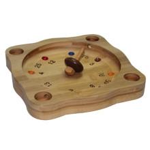 Placa do jogo da roleta do brinquedo do bambu