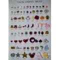 Beste Verkauf Beauty Country Style Party Dekoration goldenen sternförmigen Glitter Papier Konfetti