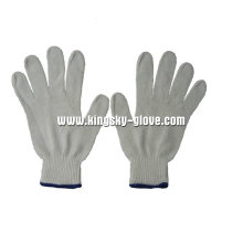 7g Bleached White String Knit Working Glove-2411