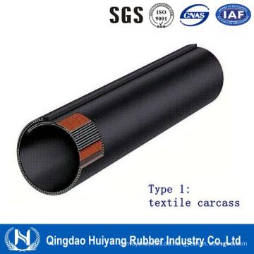 Textilkarkassen-Gummiröhren-Förderband
