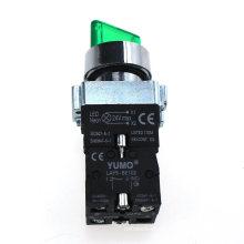 Yumo Lay5-Bk2365 DC24V Botón pulsador de plástico Interruptor de botón