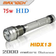 Maxtoch HIDX13 colores 75w Flash antorcha luz de largo alcance