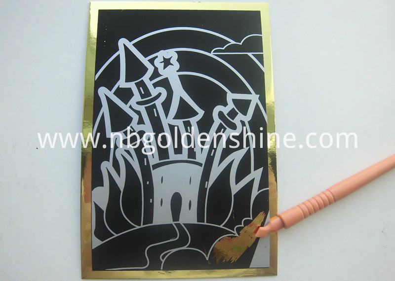 Foil Magic Scratch Poster Art