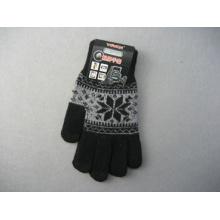 10g Polyester Liner Pattern Fashion Work Glove