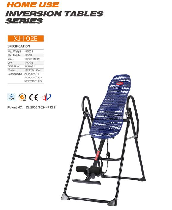 Plastic Back Inversion Table