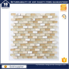 Strip Marble Mosaic for Interior Wall Floor Glass Mosaic
