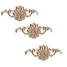 solid wood decoration wood carving onlays