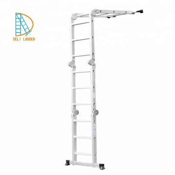 Escalera multiusos de aluminio 4x2,4x3,4x4,4x5,4x6,4x7,4x8,4x9
