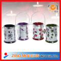 Plating Colored Glass Candle Holder