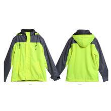 Vêtements de protection de sécurité pour la construction avec cordon de serrage à capuche