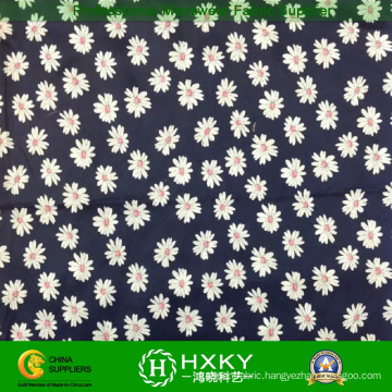 Daisy Printed Polyester Chiffon Fabric for Women′s Dress or Shirt