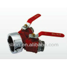 Siamese Leader Line - Two Way Ball Valve