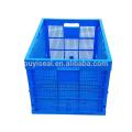 Große Volumen zusammenklappbare Plastiklagerkisten, Kisten und Behälter