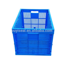 Large Volume collapsable plastic storage crates, boxes and bins