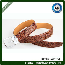 Crocodile Leather Belt Material and black, brown Color Crocodile Leather Belt