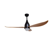 Wooden color blade new ceiling fan light