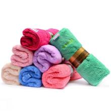 Super softy custom coral fleece face towel