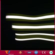 Cinta ignífuga reflectante infrarroja de encargo del algodón el 100% para el bombero