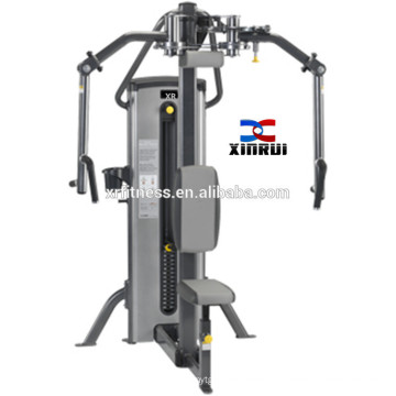 gym equipments seated row equipment chest press machine