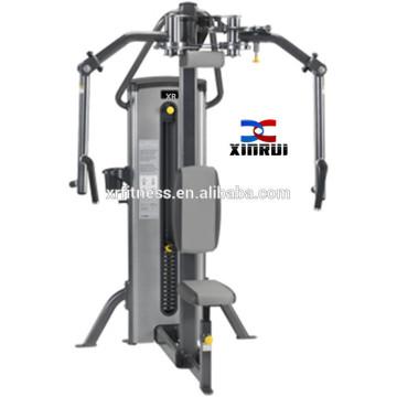 тренажерный зал оборудование усаженная оборудованием строке груди пресс машина