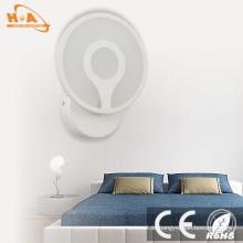Einfaches Design warmes Licht dekorative LED Hotel Wandleuchte