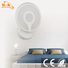 Lâmpada de parede nova do diodo emissor de luz dos produtos 4000k 8W do projeto para hotéis