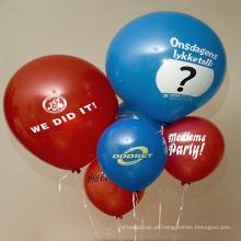 Balão da folha do gás do hélio En71 na propaganda do balão